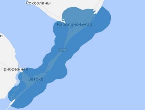 Карта покриття Затоки 4G Київстар фото
