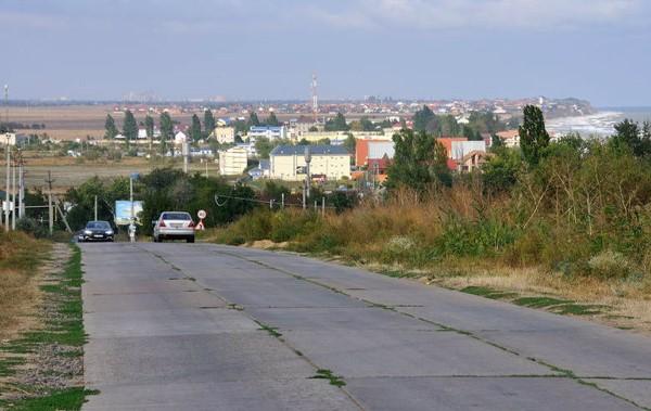 участок автодороги Одесса-Белгород-Днестровский фото