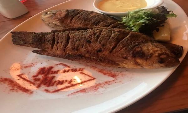 блюдо гриль-ресторану М'ясник і Море Затока